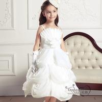 Girls elegant princess beautiful dress,children flower wedding dress,evening party clothes,evening clothing,free shipping,GQ15