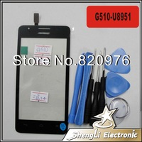 Free Shipping Original Touchscreen Touch Screen Digitizer Glass Replacement For Huawei Ascend G510 U8951 8951+Tools