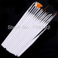 15 pcs Set Nail Art Paint Dot Draw Pen Brush for UV Gel diy decoration tools