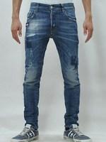 Men's DSQ distrressed jeans.Brand skinny denim pants.100% cotton jeans.slim denim trousers.Top quality.us size