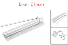 Home Office Doors Stainless Steel Automatic Door Closer Silver Tone(China (Mainland))