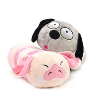Bean fruit winter cartoon plush pillow caterpillar doll toy gift cushion
