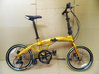 20 shimano7 dolphin aluminum alloy disc folding bike folding bicycle bike