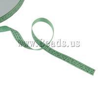 Free shipping!!!Satin Ribbon,Punk Style, green, 9mm, Length:200 Yard, 40PCs/Lot, Sold By Lot