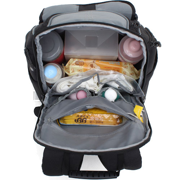 2014 new arrival free shipping fashion backpack style diaper bag nappy bag ba. Black Bedroom Furniture Sets. Home Design Ideas