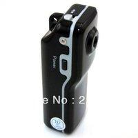 Free Shipping Mini DV MD80 Sport Camera World's Smallest Entertainment Digital Vedio Mini USB Camera Helmet 720*480P