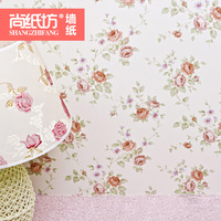 T Wallpaper rustic small flower wallpaper bedroom wallpaper ofhead background wallpaper 50502 papel de parede papel de parede