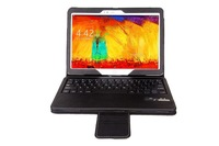 Newest  bluetooth keyboard  for Samsung Note 10.1 2014 Edition P600, P601 Detachable wireless keyboard cases ,FreeShipping