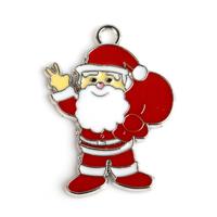 Alloy Santa Claus Charms Beautiful Christmas pendant accessories,10pcs/lot,PT-838*10