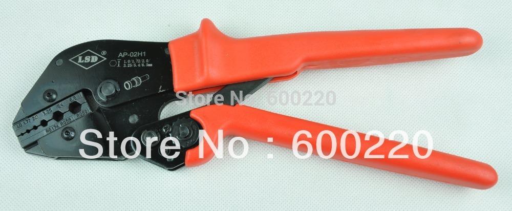 buy coaxial crimper crimping tool ls 02h1 for coaxial cable bnc fiber optic. Black Bedroom Furniture Sets. Home Design Ideas