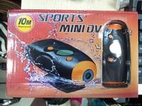 Ski mountaineering outdoor sports flying bicycle helmet camera DV camcorder waterproof diving 10 meters Video