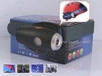 Outdoor Sports Helmet Sports DV digital camcorder and efficient infrared laser light function