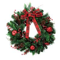 Christmas wreath 30cm 40cm 50cm Christmas christmas door hanging decoration garishness door trim christmas decoration