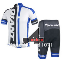 Mountain Sportswear 2014 Giant Team Pro Short Sleeve Cycling Clothing And Shorts Bike Wear shirt Jersey Ciclismo Clothes Set