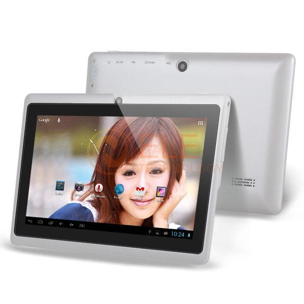 atm7021 de doble núcleo de tablet pc androide q88 4.2.2 de doble