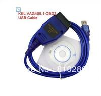 2013best quality VAG 409 USB COM, vag 409.1 usb kkl interface , vag409 usb cable FAST free shipping