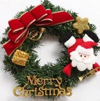 Christmas decoration door Christmas garishness 30cm decoration handmade christmas wreath