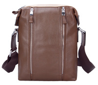 Man bag real leather men business messenger bag super quality long shoulder free shipping wholesale
