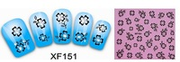 XF lace 3 d nail post XF151 nail nail stickers French nails 40pcs/lot