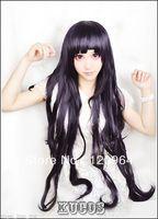Hot Sell! ! Danganronpa Mikan Tsumiki cosplay wig purple styled