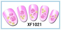 XF lace 3 d nail post XF1021 nail nail stickers French nails 40pcs/lot