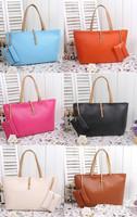 7 colors designers brand 2014 women handbag leather messengers bag lady shoulder candy bag Retail and Wholesale