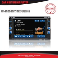 2 din car multimedia player/DVD MP3 USB SD AUX in /Support TV Bluetooth AM FM radio Rear view camera Touch screen car DVD player