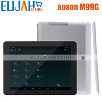 9.7'' Aoson M99G Allwinner A31S Quad Core 3G phone call tablet pc 10 points 1GB/8GB Dual Camera Bluetooth HDMI Android 4.2