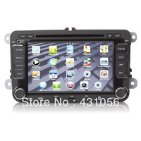 "7"" Auto Car DVD Player Gps Navi for VW Golf Bora Tiguan Octavia Passat Touran  BY FREE SHIPPING"