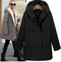 2013 new Women's winter Wool coat Fur woolen jacket Slim Girls Long woolen coat RX895