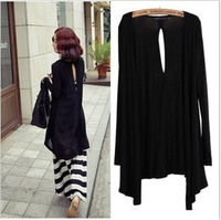 sale Sun protection clothing modal batwing type air conditioning shirt long design cardigan women's cape thin