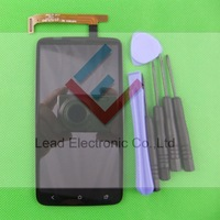 Wholesale Full LCD Display + Digitizer Touch Screen Assembly For HTC One X S720e G23+Tools  2pcs/lot