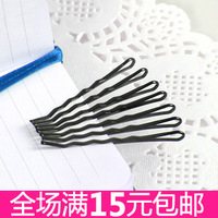 5461 brief steel wire small hairpin u clip style hair pin hinggan side-knotted clip hair accessory hair maker
