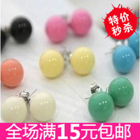 1139 fashion small accessories candy ball stud earring female earrings earring