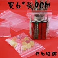 6*9cm PE clear bag valve bag plastic bag transparent bag ziplock bag,FREE SHIPPING