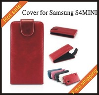 Free shipping --New high quality fengma leather case mobilephone cellphone for  Samsung S4 MINI