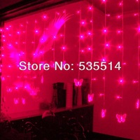 Fairy LED Butterfly-shaped Window Lights Seasonal Christmas xmas holiday Decor