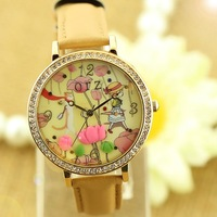 South Korean female table fashion diamond watch 3D Watch brand watches brand watches wholesale custom