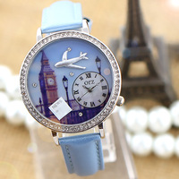 Korean women watch watch watch wholesale Korean fashion quartz watch ladies diamond watches Canton watches