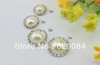 4 Size free shiping hot sale phone case decoration pearl sticker for phone case,handmade decoration(100 pieces/lot)