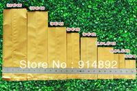 Wholesale 9*25cm   foil food packaging bag / vacuum bag  /flat pocket bags/tea