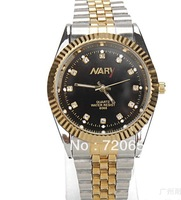 Free shipping,2013 fashion watches,full steel watch,quartz watch,Golden watches,rhinestone watches business watch