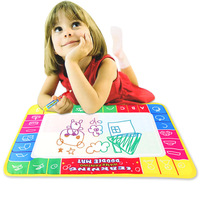 New Arrival 72X49cm Water Drawing Painting Writing Mat Board & Magic Pen Doodle Toy Gift   Free Shipping & Wholesale
