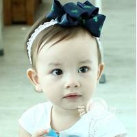 Baby Girl's Lovely bowknot princess baby Headband Headwear Hair Accessories Infant Hair Band-13