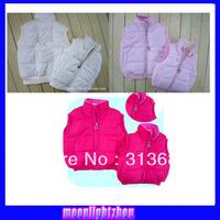 Girls cotton vest cotton vest thick waistcoat cartoon KT 01
