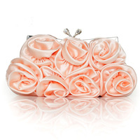 2012 silks and satins flower bridal flower bag handbag evening bag banquet bag bridesmaids package
