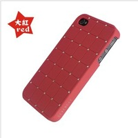 for About the iphone 5s latest version CZ diamond mobile phone shell red