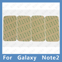 50PCS 3M Pre-Cut Adhesive Glue Strip Tape Sticker For Samsung Galaxy Note 2 II N7100 Glass Lens Digitizer Free Shipping