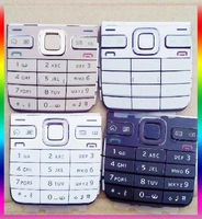 Black/White/Gray/Golden New Original Housing Main Menu Keypads Keyboards Buttons Cover Case For Nokia E52 Free Shipping