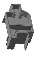 Wholesale Sample plastic case Whole plank model plank abs customize